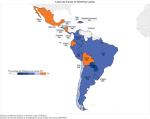 Mapa de Leyes de Cuotas en América Latina